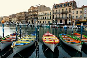 Canal à Sète, la petite Venise du Languedoc