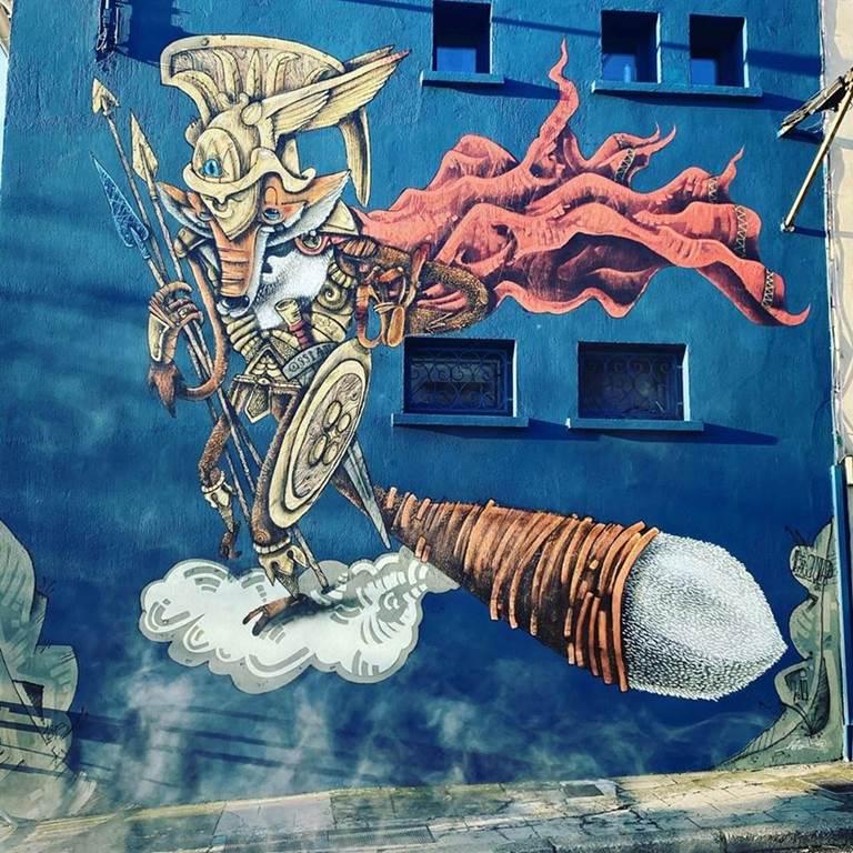 fresque murale à Montauban
