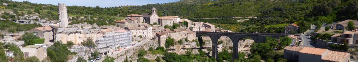 Village pittoresque de Minerve