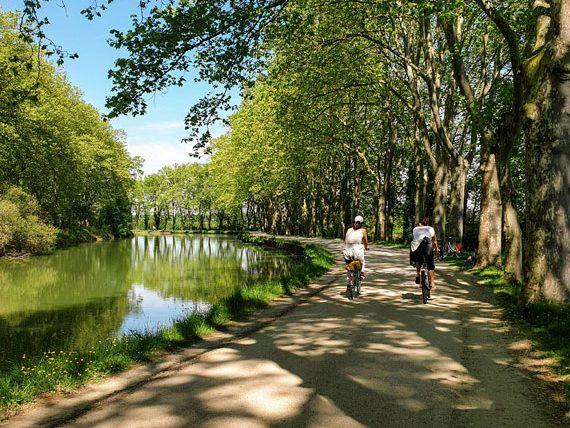 Séjour à vélo le long du Canal du Midi